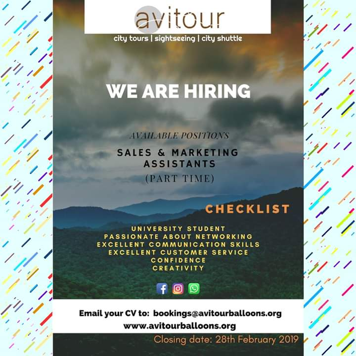 Photo of Avitour wants a part-time sales person.