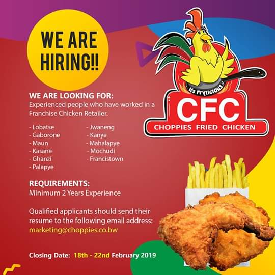 Photo of CFC is hiring