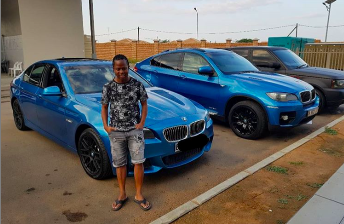 Photo of 5 Times Vee Mampeezy and Kagiso Sento Showed Off Their Car Collection