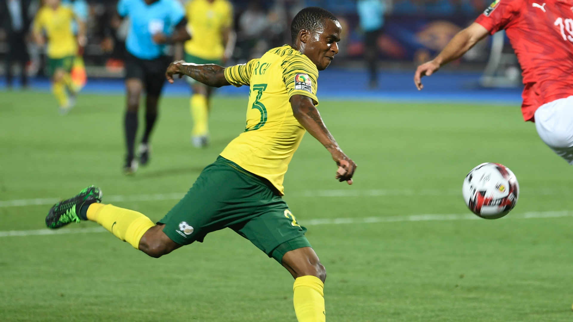 Photo of Bafana Bafana's Lorch Torches Egypt