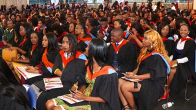 1 780 Students Graduate at University of Botswana