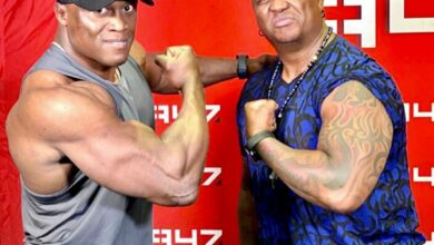 Photo of DJ Fresh Meets WWE Superstar Bobby Lashley