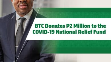Photo of BTC DONATES P2MILLION TO THE NATIONAL COVID-19 RELIEF FUND