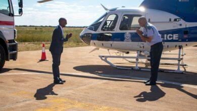 Photo of Puma Donates Aaircraft Fuel to Botswana Police Service