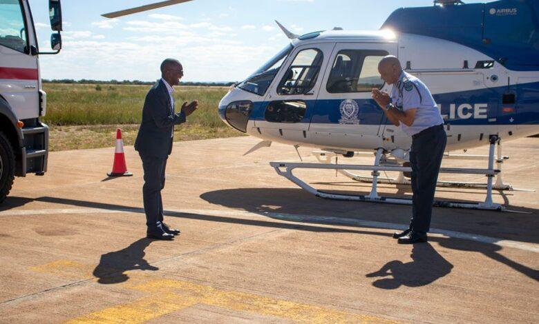 Puma Donates Aaircraft Fuel to Botswana Police Service