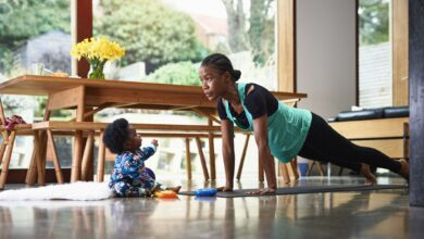 Photo of 5 home workouts you can do during this Lockdown