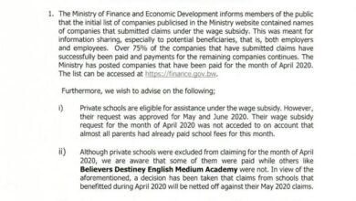 Photo of CLARIFICATION ON SUBSIDY ISSUES