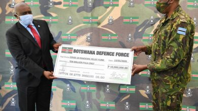 Photo of PRESIDENT MASISI APPLAUDS DISCIPLINED FORCES