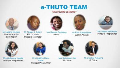 Photo of e-Thuto WINS 2020 UNITED NATIONS PUBLIC SERVICE AWARD