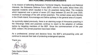 Photo of Anti Poaching Operation Incidents