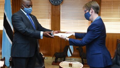 Photo of Envoys Present Credentials