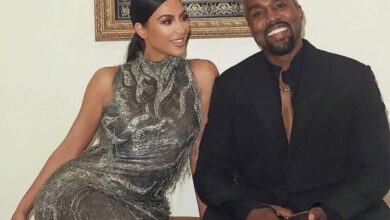 Photo of Kim Kardashian-West caught In Hysterics With Kanye West