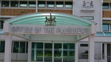 Photo of Office of the president temporary closure